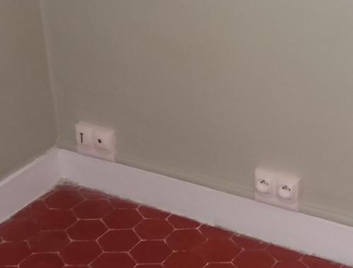 Rénovation électrique en goulotte